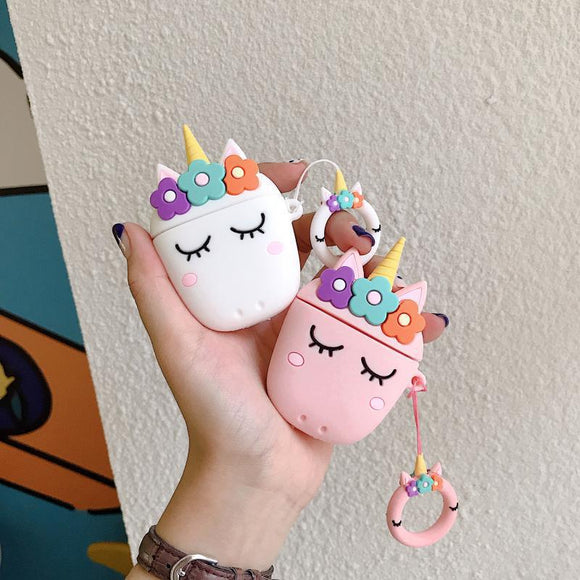 Cute Unicorn Case for Apple Airpods Charging Case - Hot Buy Trend