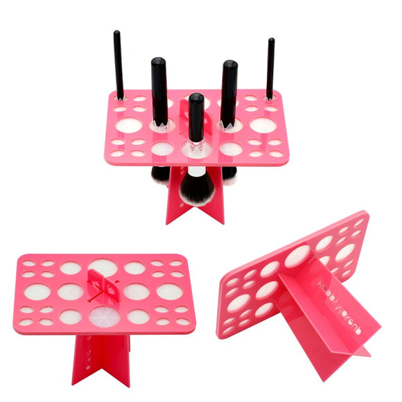 Makeup Brush Drying Rack, 26 Holes Makeup Brush Holder - Hot Buy Trend
