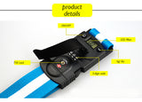 3-in-1 Luggage Strap with Digital Scale and Lock - Hot Buy Trend