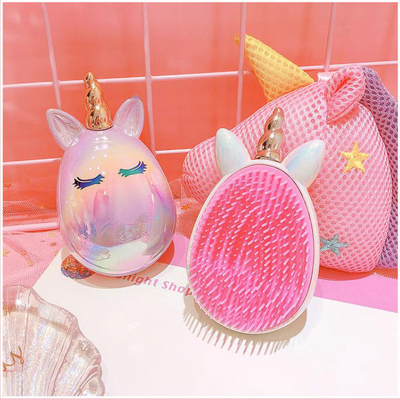 Unicorn Detangling Hairbrush - Hot Buy Trend