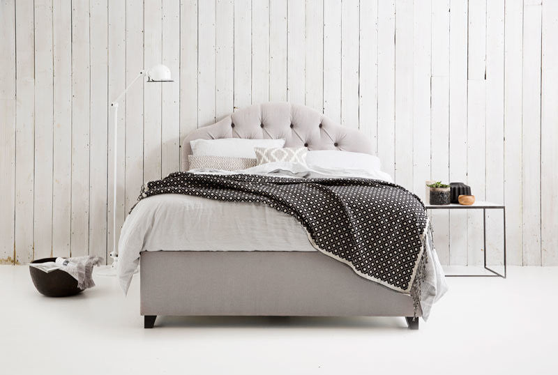 Christobelle - Buttoned Storage Bed