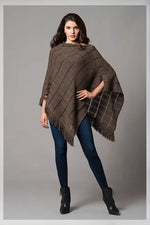 DROP NEEDLE PONCHO