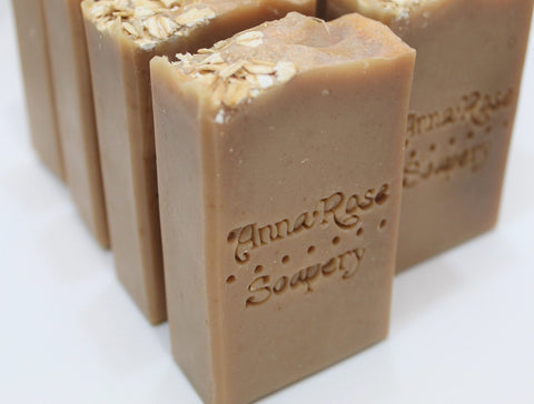Oatmeal, Goat Milk, & Honey Handmade Artisan Soap