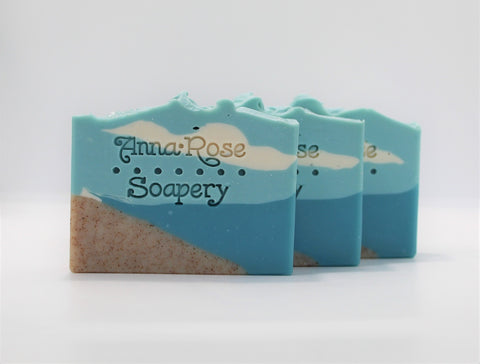 Seaside Cotton Blossom Handmade Artisan Soap