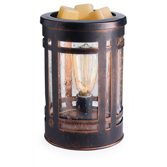 Mission Style Edison Bulb Wax Melt Warmer