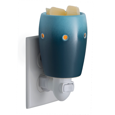 Ombre Blue Wall Plug-In Wax Melt Warmer