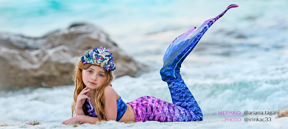 Premium Swimmable Mermaid Tails for Kids & Adults – Swimtails