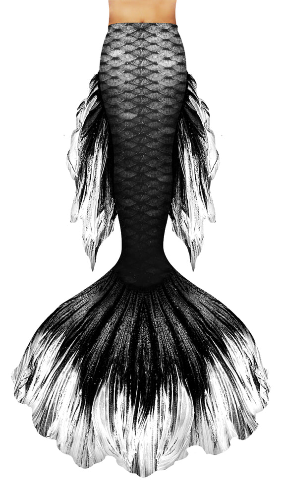Black Betta Mermaid Tail