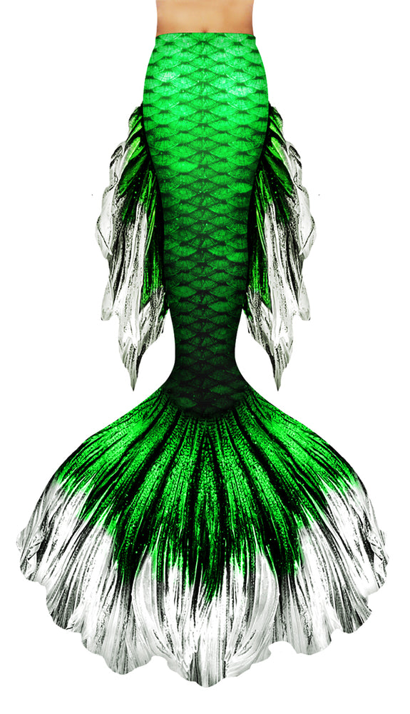 Green Betta Mermaid Tail