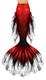 Red Betta Mermaid Tail