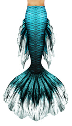 Teal Betta Mermaid Tail