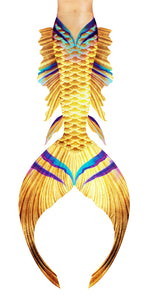 Gold Cleopatra Mermaid Tail