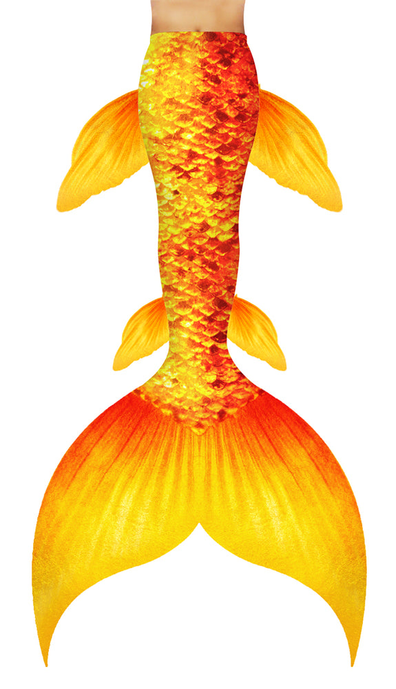 Goldfish Mermaid Tail