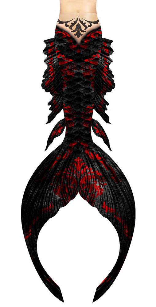 Gothic Cleopatra Mermaid Tail