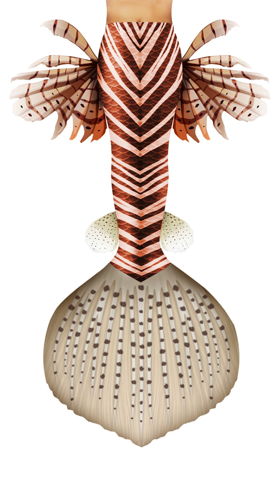 Lionfish Mermaid Tail
