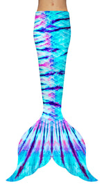 Lollipop Tie Dye Mermaid Tail