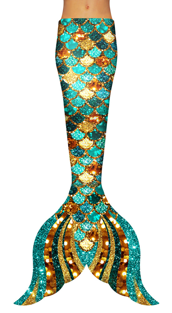Mermaid Glitter Sparkles Tail