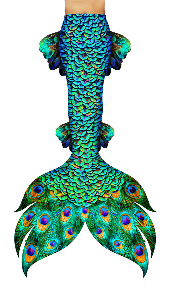Peacock Siren Mermaid Tail