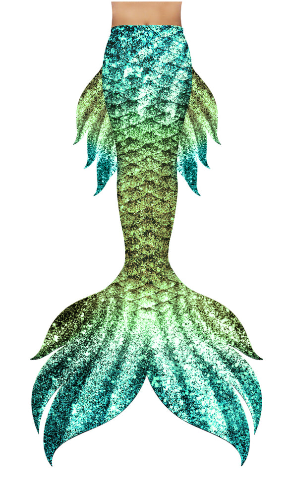 Soleil Jungle Siren Mermaid Tail