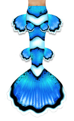Blue Clownfish Mermaid Tail