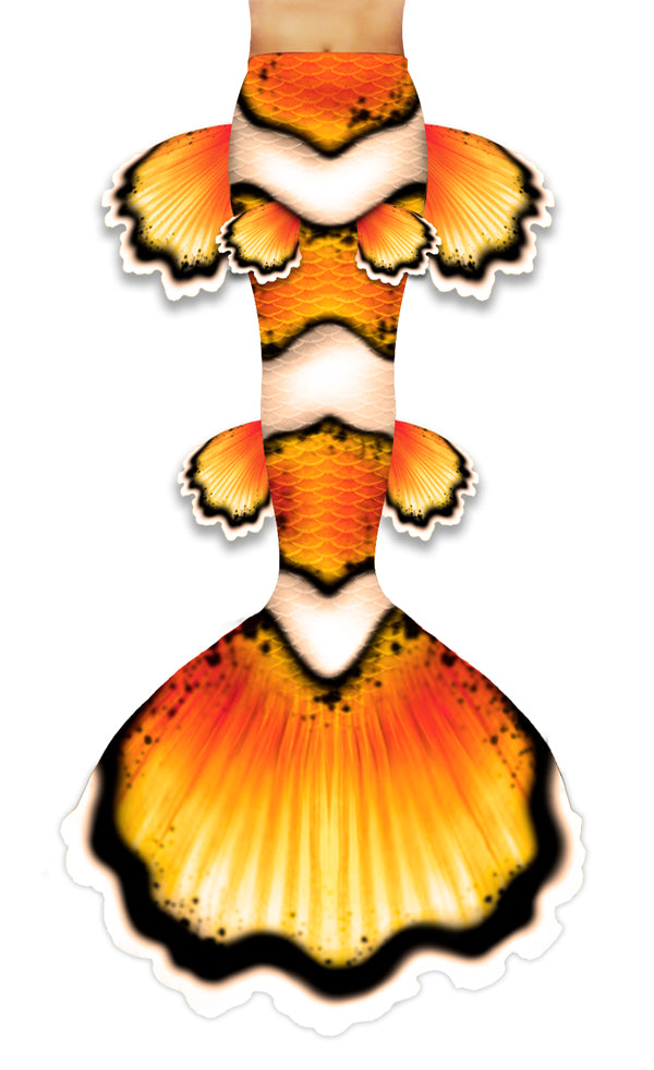Clownfish Mermaid Tail