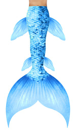 Pastel Blue Mermaid Tail