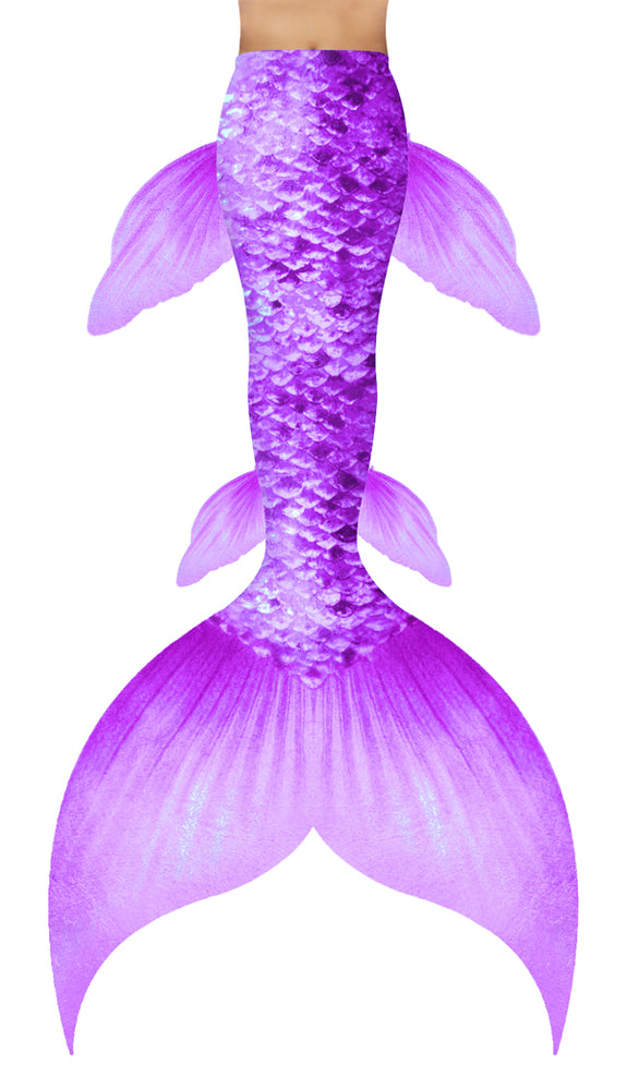 Pastel Purple Mermaid Tail