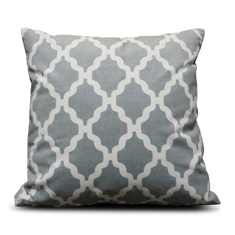Grey Casablanca 40cm x 40cm Cushion