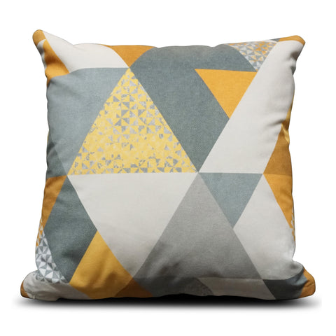 Mustard Diamond 40cm x 40cm Cushion