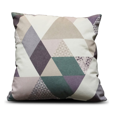 Purple Diamond 40cm x 40cm Cushion