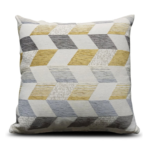 Mustard Chevron 40cm x 40cm Cushion