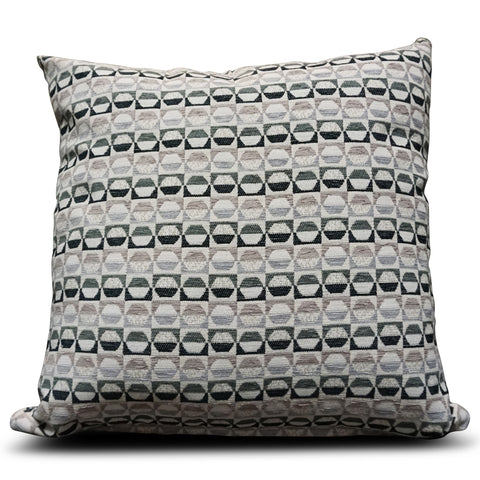 Black Square 56cm x 56cm Cushion