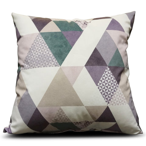 Purple Diamond 56cm x 56cm Cushion
