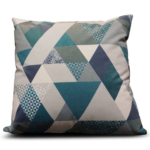 Teal Diamond 56cm x 56cm Cushion
