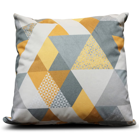 Mustard Diamond 56cm x 56cm Cushion