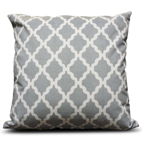 Grey Casablanca 56cm x 56cm Cushion