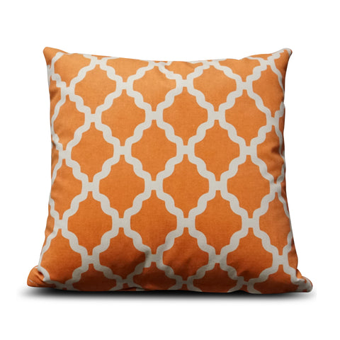 Burnt Orange Casablanca 40cm x 40cm Cushion