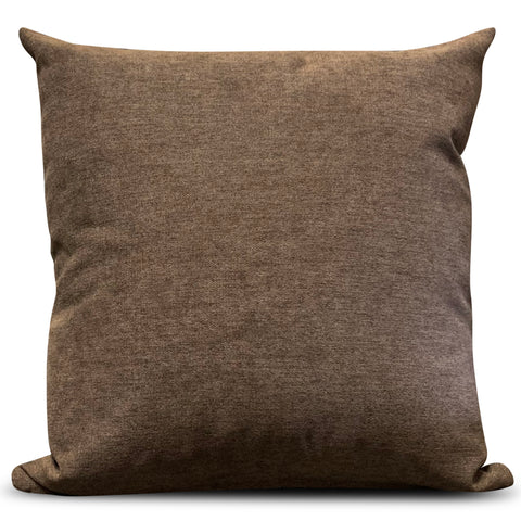 Chocolate Brown Enjoy 56cm x 56cm Cushion
