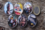 6 Magnets personnalisés -  6 Magnets with your photos