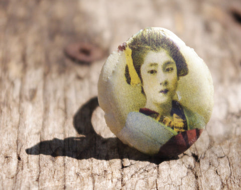 "Bague ""Geisha"" ring"