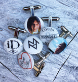 Boutons de manchette personnalisés - Cufflinks with your photos
