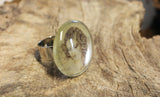 Bague Léda en verre - Glass Leda ring