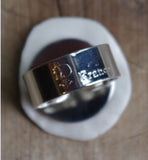 """Will you marry me?"" ring"