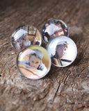 Bague Personnalisée en verre - Your photo on glass ring