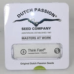 Dutch Passion - Think Fast Feminised Photoperiod (3 Seeds)