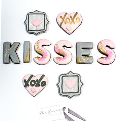 Kisses luxe A4 magnetic box