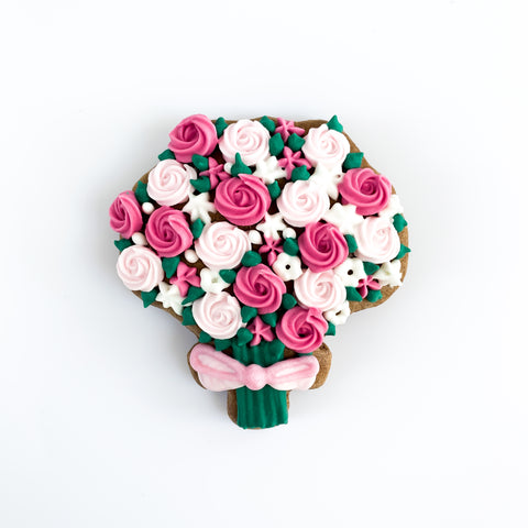 Posh Flower Bouquet single biscuit gift box