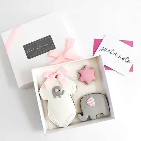 Posh Little Elephant Set small gift box