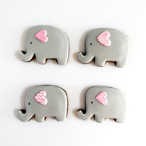 Posh Little Elephants medium gift box