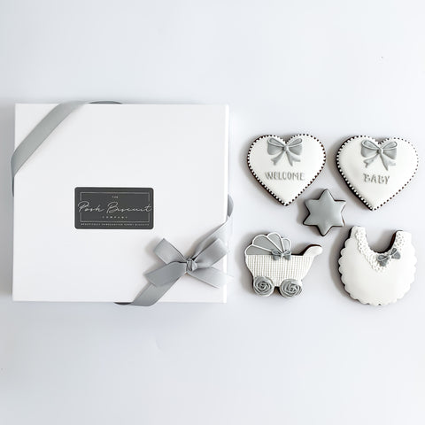 Posh New Baby Set medium gift box